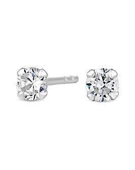 Simply Silver Small Stud Earrings