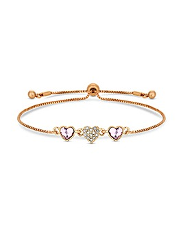 Jon Richard Swarovski Toggle Bracelet