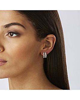 Lipsy Two Tone Hoop Earrings Pack Of 2