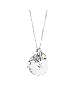 Jon Richard Swarovski Locket Pendant