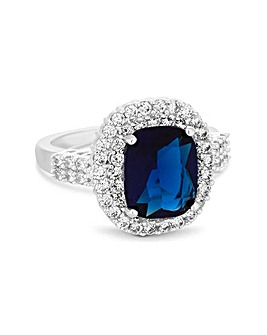 Jon Richard Blue Centre Stone Ring