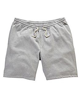 Jacamo Grey Marl Fleece Shorts
