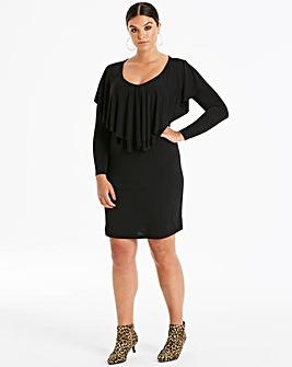 Junarose Frill Front Dress