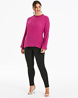 Junarose High Neck Blouse