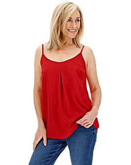 Red Strappy Cami