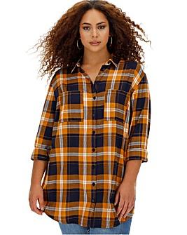 Boyfriend Style Check Shirt