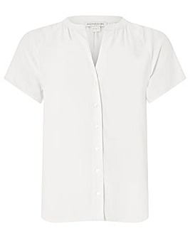 Monsoon Zinnia Short Sleeve Blouse