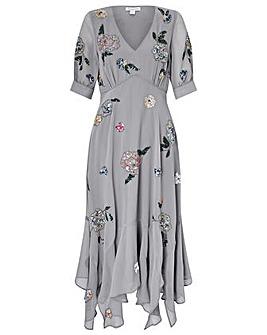 Monsoon Hariette Embellished  Dress
