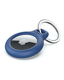 Secure Holder with Keyring - Black
