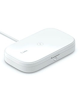 Belkin BOOSTCHARGE UV Sanitizer with Wireless Charging