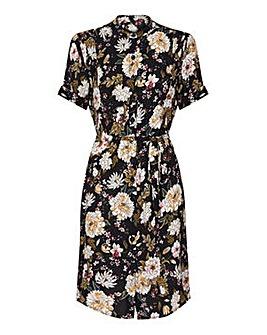 Yumi Curves Oriental Flower Dress