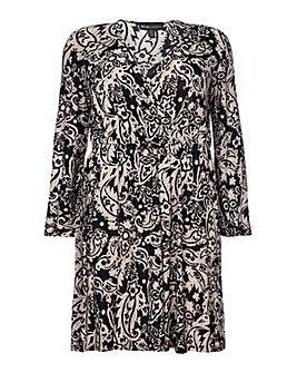 Mela London Curve Wrap Dress