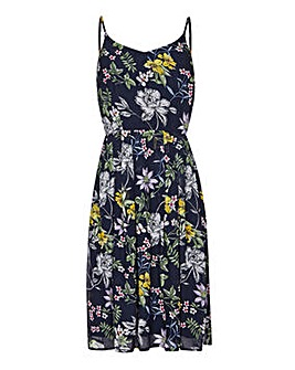Yumi Curves Floral Strappy Sundress