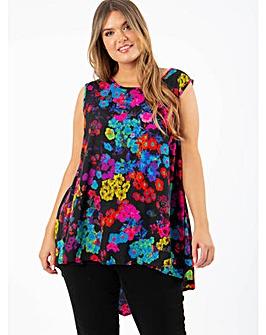 Koko Floral Print Vest