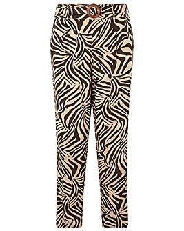 Monsoon Zadie Zebra Organic Trouser