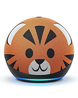 Amazon Echo Dot Kids (4th Gen) - Tiger