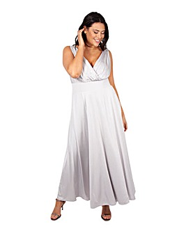 Scarlett & Jo Grey Maxi Dress