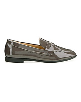 Patent Loafers Extra Wide EEE Fit