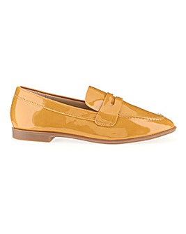 Patent Loafers Wide E Fit