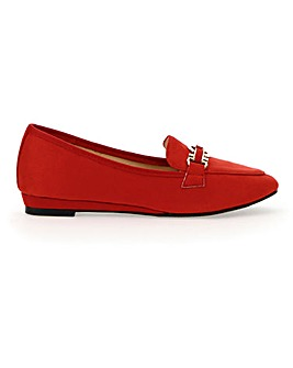 Low Wedge Loafers EEE Fit