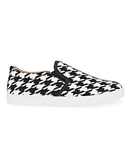 Slip On Leisure Shoes Wide E Fit