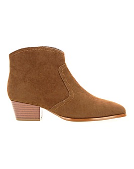 Western Ankle Boots E Fit