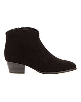 Western Ankle Boots Extra Wide EEE Fit
