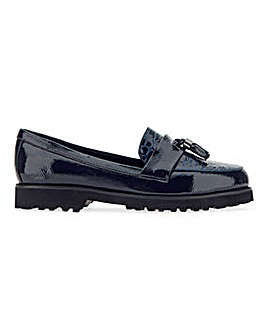 Lightweight Tassel Loafers Wide E Fit