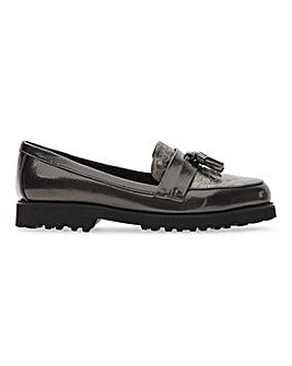 Lightweight Tassel Loafers Extra Wide EEE Fit