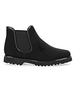 Pull On Chelsea Boots E Fit