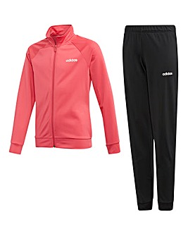 Adidas Younger Girls Entry Tracksuit