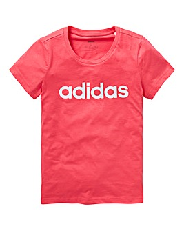 Adidas Younger Girls Linear Tee
