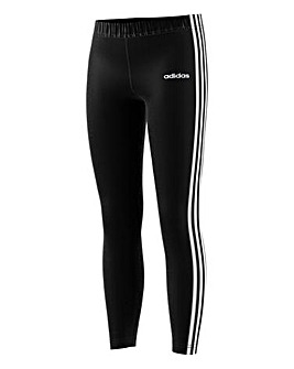 Adidas Younger Girls Three Stripe Tight