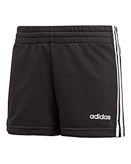 Adidas Younger Girls Three Stripe Short