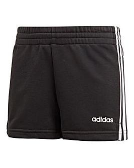Adidas Younger Girls Three Stripe Short
