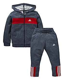 adidas Younger Boys Cotton Tracksuit