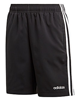 Adidas Younger Boys Three Stripe Short