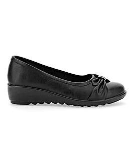 Cushion Walk Bow Detail Shoes E Fit