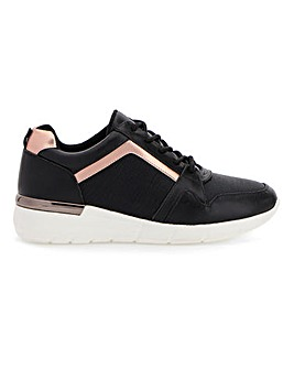 Lace Up Leisure Shoes E Fit
