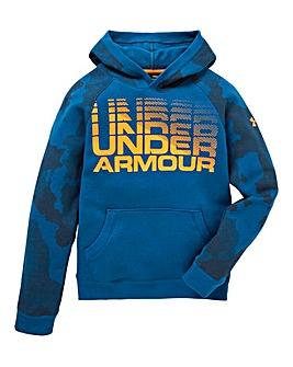 Under Armour Boys Rival Wordmark Hoody