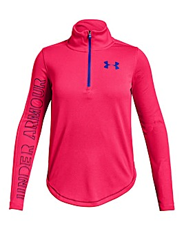 Under Armour Girls Tech 1/2 Zip