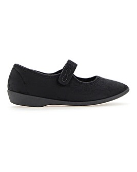 Touch And Close Bar Slippers E Fit
