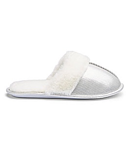 Closed Toe Mule Slippers E Fit