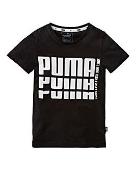 Puma Boys Rebel Bold Basic Tee