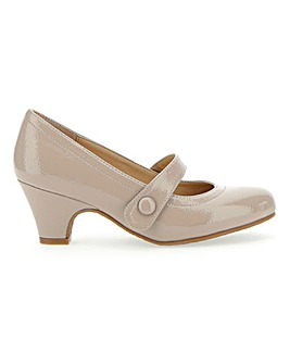 Patent Mary Jane Bar Shoes E Fit