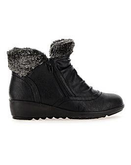 Cushion Walk Twin Zip Boots E Fit