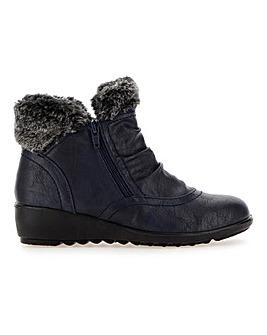 Cushion Walk Twin Zip Boots EEE Fit