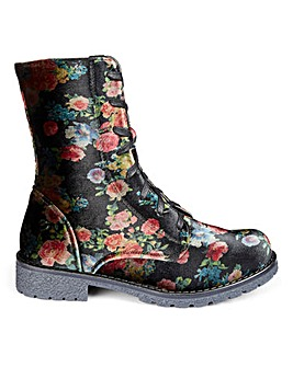 Heavenly Feet Lace Up Boots E Fit