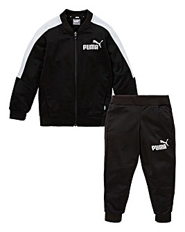 Puma Boys Baseball Collar Tracksuit