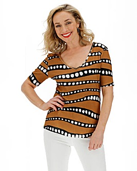 Value Cotton Half Sleeve Tunic